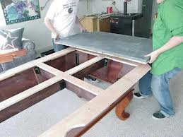 Pool table moves in Manchester New Hampshire