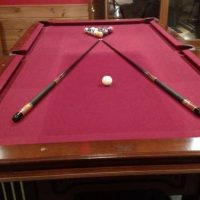8' Harley Davidson Pool Table