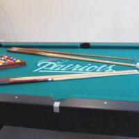 8' Brunswick Patriots Pool Table