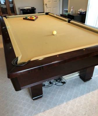 Brunswick Hawthorn 8 Foot Pool Table (SOLD)
