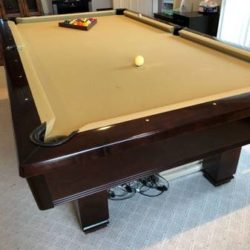 Brunswick Hawthorn 8 Foot Pool Table