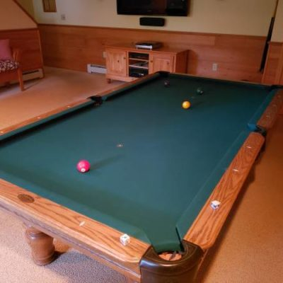 8' Olhausen Slate Pool Table
