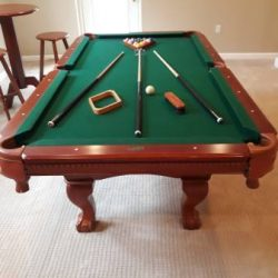 Sportcraft Pool Table w/High Top Table & 2 Stools